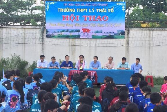 Hội thao chào mừng ngày nhà giáo Việt Nam 20-11-2019